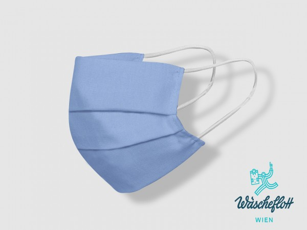 Facemask blue-uni